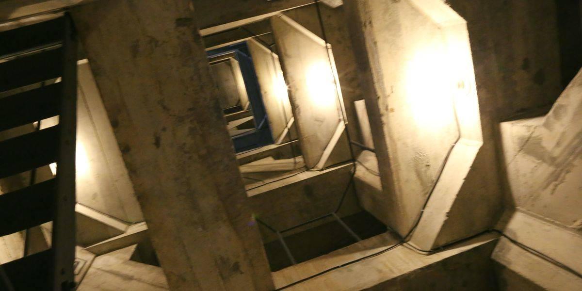 L'intérieur du Corcovado