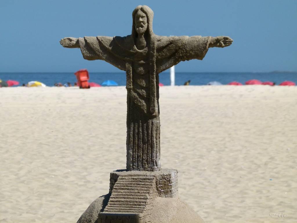 Réplique éphemère à Rio de Janeiro