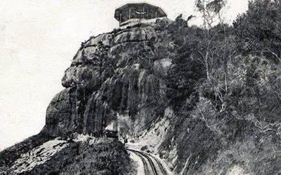 La ligne du chemin de fer au début du XXe siècle