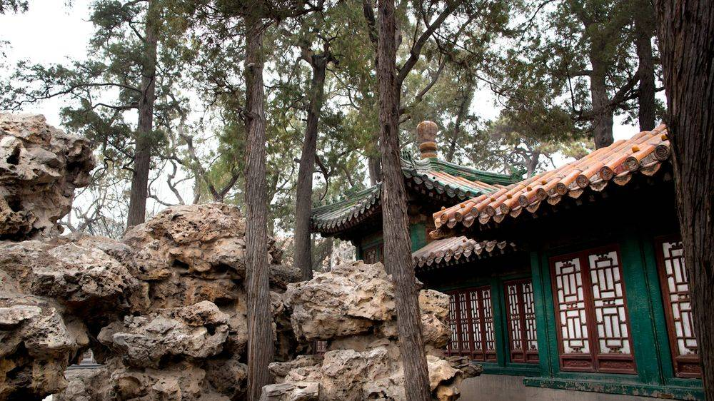 Le jardin de Qianlong