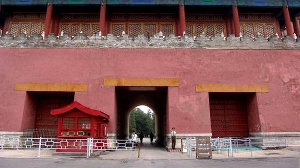 Porte occidentale de la gloire