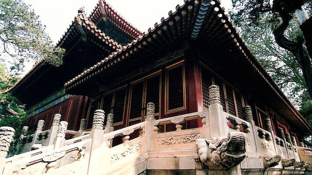 Le temple de la paix impériale