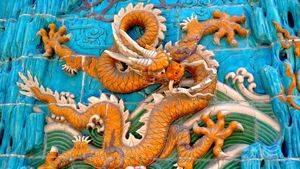 Mur des 9 dragons