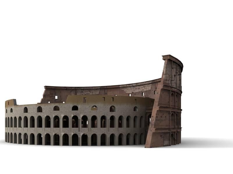 Schéma du Colisée