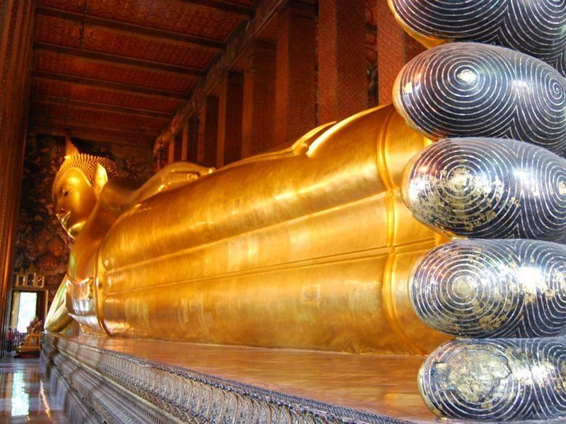Bouddha couché, Wat Pho