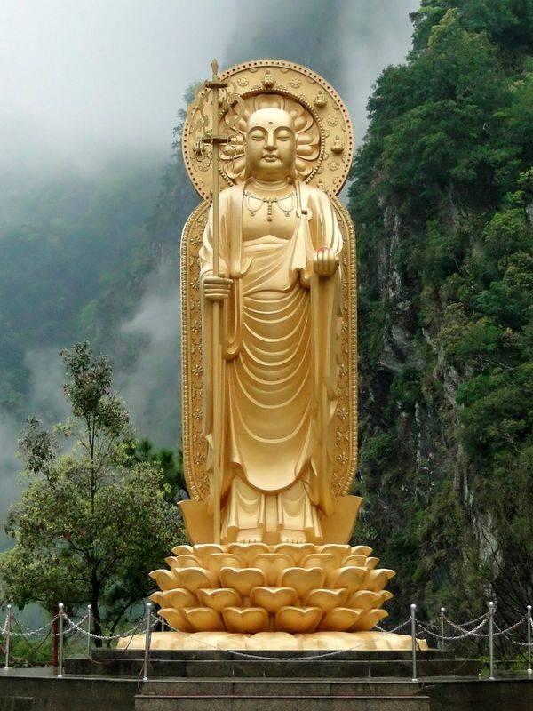 Le moine Ksitigarbha