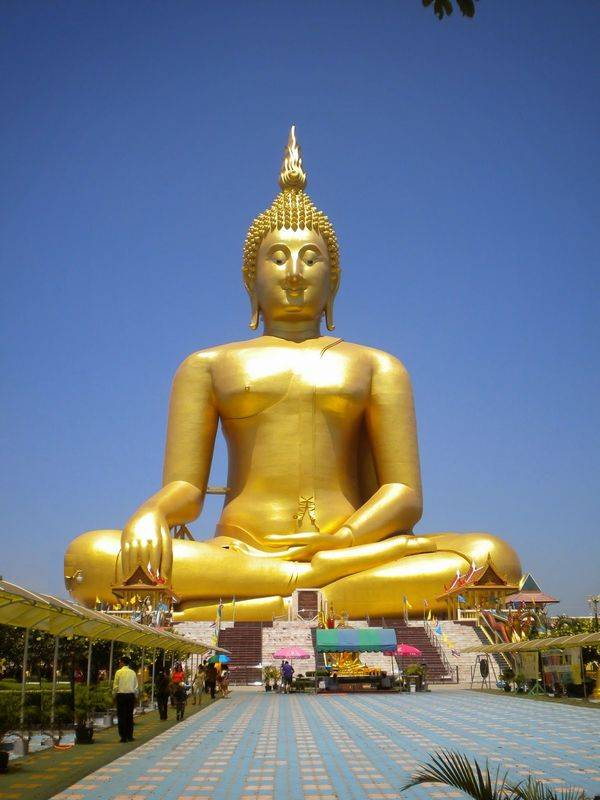Grand Bouddha de Thaïlande