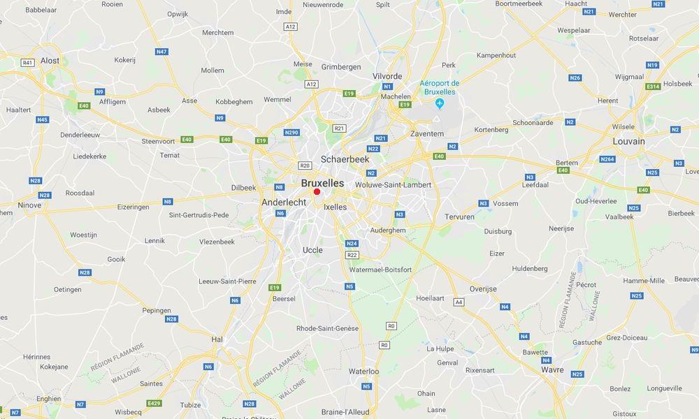 La région de Bruxelles