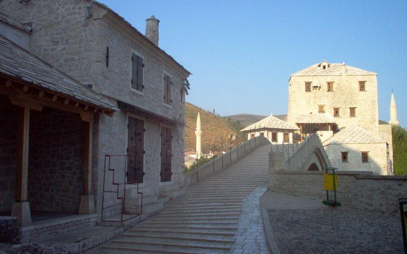 Les tabliers du Stari Most