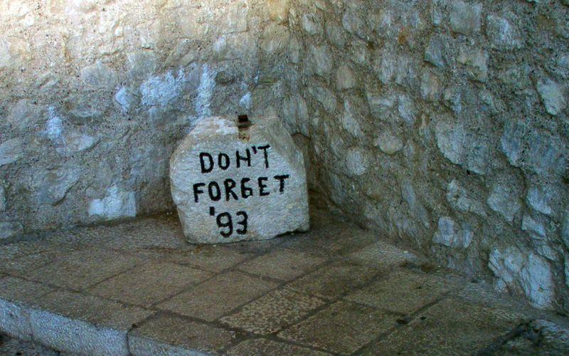Stèle commémorative