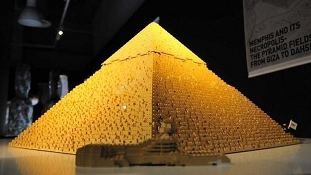 Pyramide en Légo