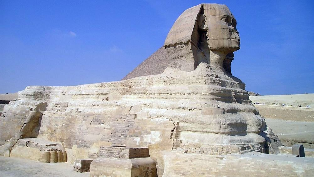 Le grand Sphinx d'Egypte