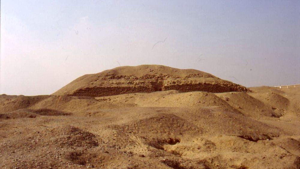 La pyramide de Khaba