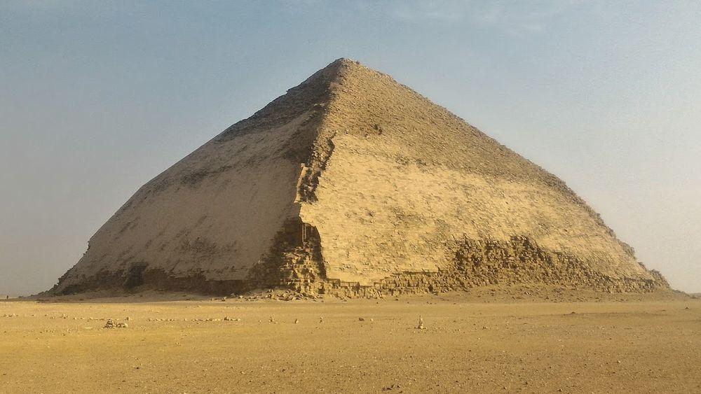 La pyramide rhomboïdale de Snéfrou