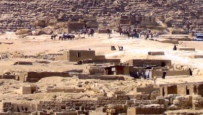 Plateau de Gizeh