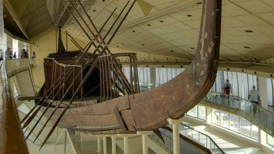 Barque solaire de Khéops
