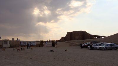 Parking de visite Saqqarah