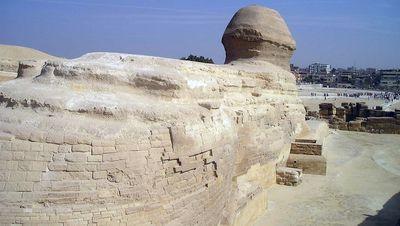 Vue arrière du Sphinx