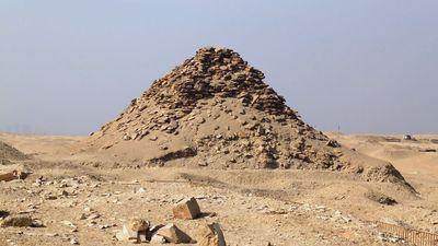 La pyramide d'Ouserkaf