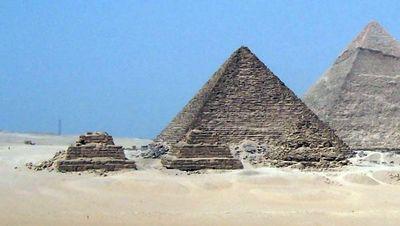 La pyramide de Mykérinos