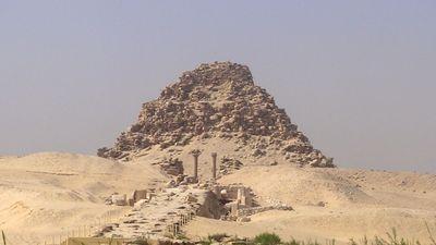 La pyramide de Sahouré