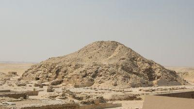 La pyramide de Sekhmekhet