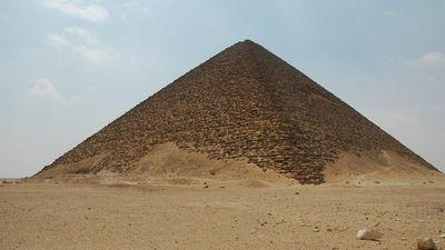 La pyramide rouge, de Snéfrou