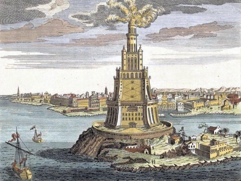 Le Phare d'Alexandrie