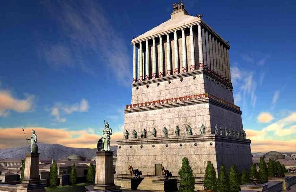 Intrigue #25 - Les 7 merveilles du monde Mausolee-d-Halicarnasse