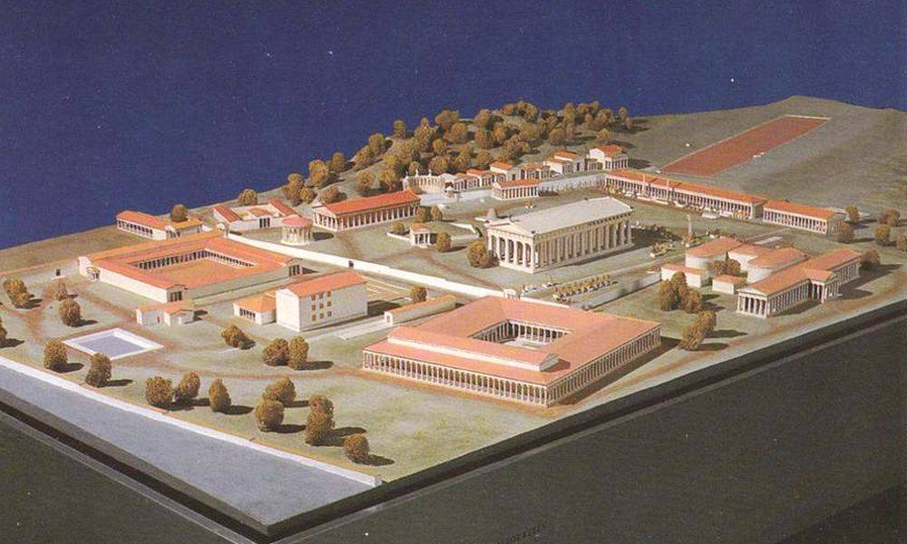 Maquette d'Olympie