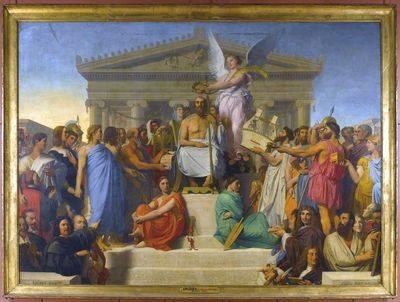 L'apothéose d'Homère