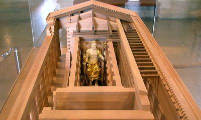 Maquette du Louvre