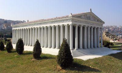 Réplique du temple d'Artemis