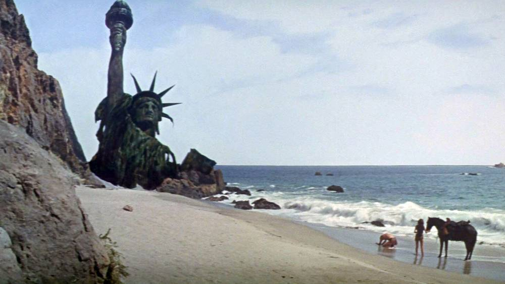"""""""statue de la liberté la planete des singes"""""""