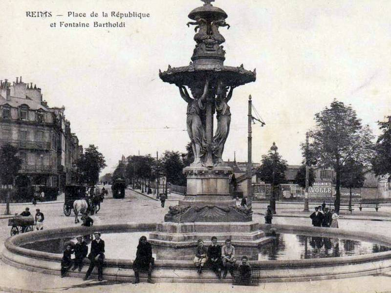 Fontaine Bartholdi, Reims