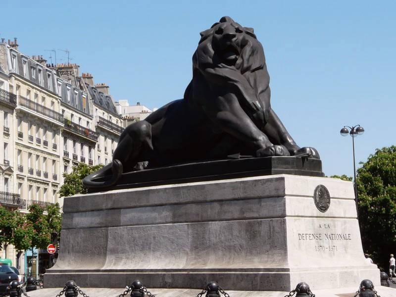 Réplique du lion de Belfort