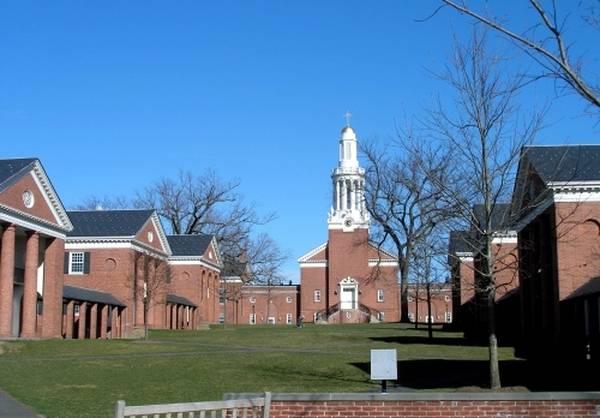 Le Divinity college de Yale