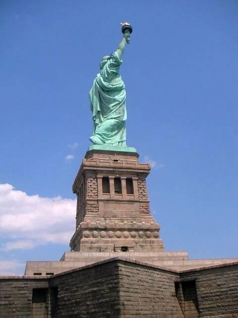 Socle de la statue de la Liberté