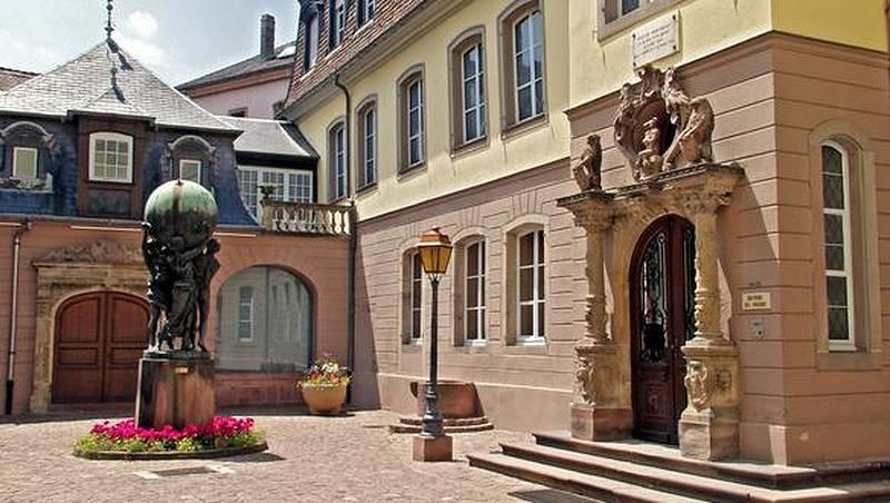 L'entrée du musée Bartholdi, à Colmar