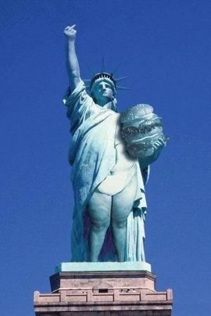 Exceptionnel Humour sur la statue de la Liberté AT37