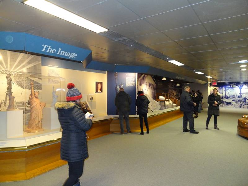Le musée de la statue de la Liberté