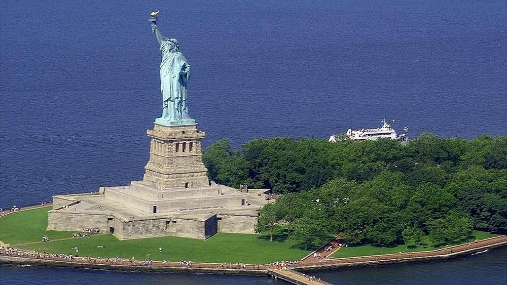 Extrêmement La Statue de la Liberté QA11