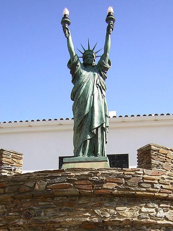 Souvent Copies, répliques et reproductions de la statue de la Liberté IE58