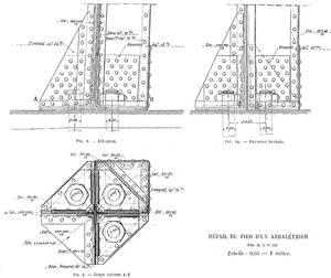 Plan des arbalétriers