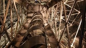 L'intérieur de la statue