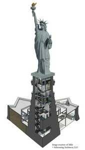 Plan du monument