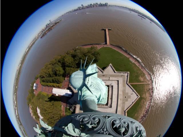 Webcam de la statue de la Liberté