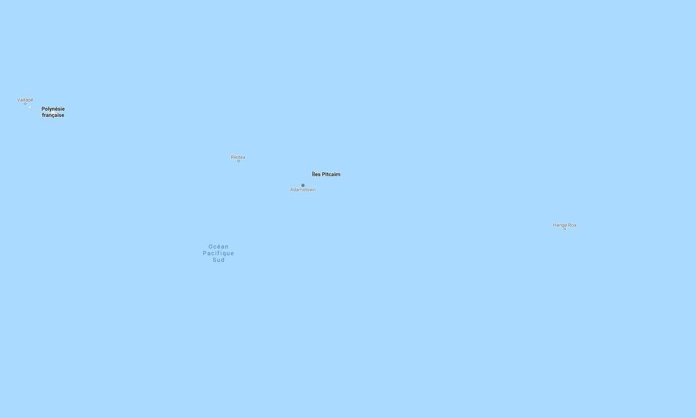 Dans le Pacifique