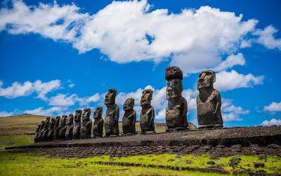 Statues de l'île de Pâques
