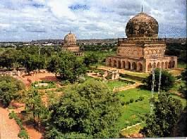 Les tombeaux des rois Qutub Shahi